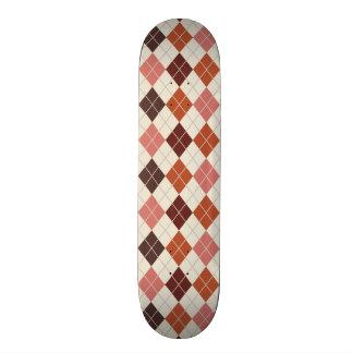 Brown, Sierra, Burnt Orange, Tan Argyle Skateboards