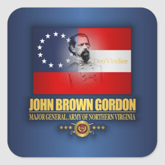 Brown (Southern Patriot) Square Sticker