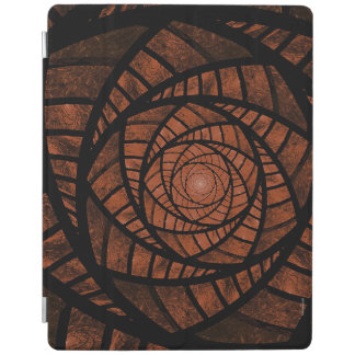 Brown Spiral iPad Cover