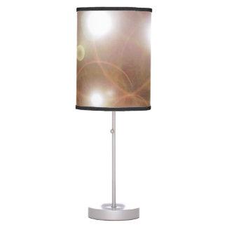 Brown Star Universe Desk Lamp