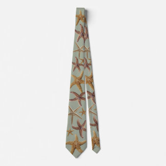 Brown Starfish Collection Sage Green Tie