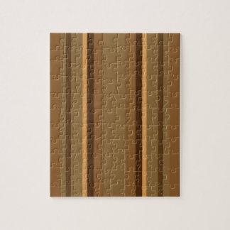 Brown Stripes Jigsaw Puzzle