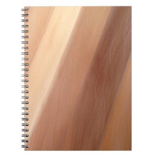 Brown Strips Notebook