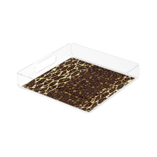 Brown Sugar Animal Print Serving Tray