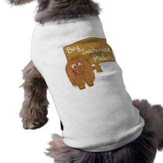 Brown sustainable products dog clothing
