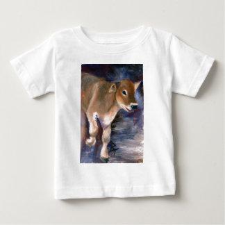 Brown Swiss Calf Infant Tshirt