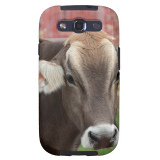 Brown Swiss Cow Samsung Galaxy SIII Cover