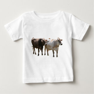 Brown Swiss Cows Baby T-Shirt