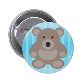 Brown Teddy Bear Pins