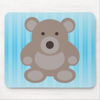 Brown Teddy Bear Mouse Pad