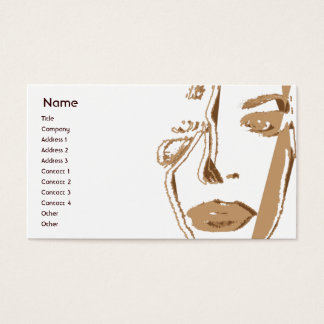 Brown Thinking - Business Business Card