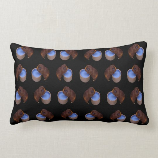 Brown Thirsty Guinea Pigs, Lumbar Cushion