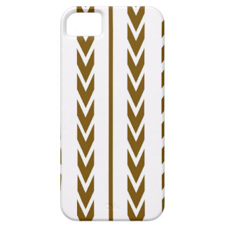 Brown Tire Tread Case For The iPhone 5