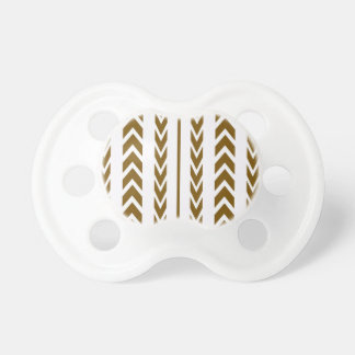 Brown Tire Tread Pacifier