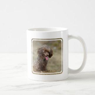 Brown Toy Poodle Coffee Mug