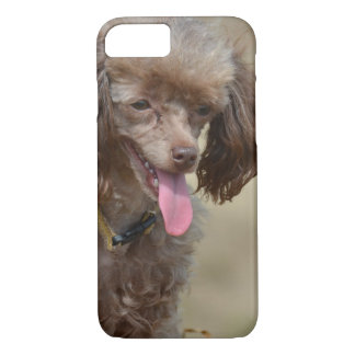 Brown Toy Poodle iPhone 7 Case