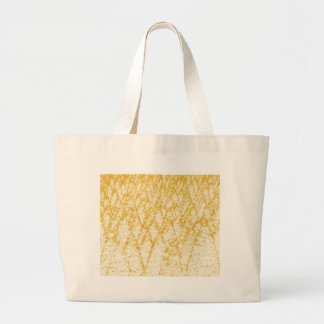 brown trees large tote bag