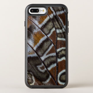 Brown tropical butterfly close-up OtterBox symmetry iPhone 8 plus/7 plus case