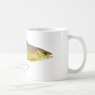 Brown Trout Coffee Mug