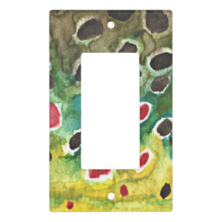 Brown Trout Fish Light Switch Cover