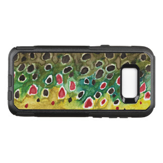 Brown Trout Fishing, Ichthyology OtterBox Commuter Samsung Galaxy S8+ Case