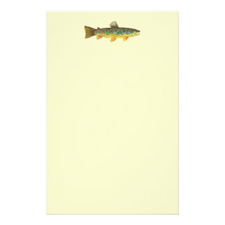 Brown Trout Fishing Stationery