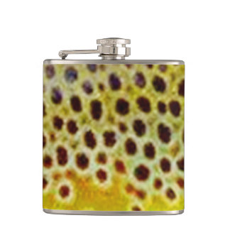 Brown Trout Flask by Patternwear©