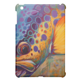Brown Trout, Fly Fishing I-Pad Case iPad Mini Cover