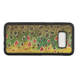Brown Trout for Fly Fishermen and Ichthyologists Carved Samsung Galaxy S8 Case