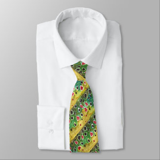 Brown Trout Skin Fisherman's Angler's Tie