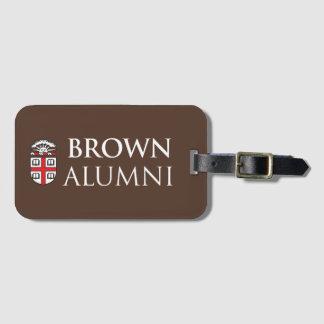 Brown University Alumni Luggage Tag