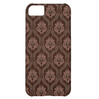 Brown Vintage Pattern Case For iPhone 5C
