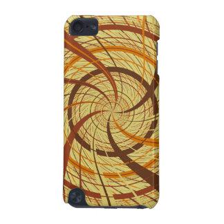 Brown vortex iPod touch (5th generation) case