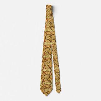 Brown vortex tie