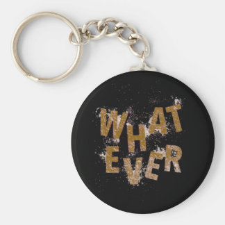 Brown Whatever Keychain