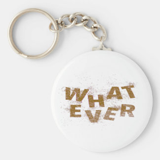Brown Whatever PNG Keychain