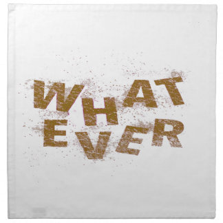 Brown Whatever PNG Napkin