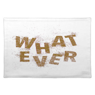 Brown Whatever PNG Placemat