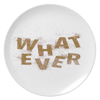 Brown Whatever PNG Plate