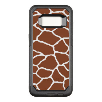 Brown White Giraffe OtterBox Galaxy 7 OtterBox Commuter Samsung Galaxy S8 Case