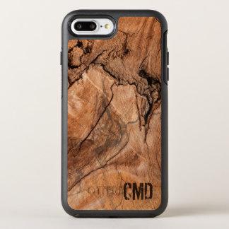 Brown Wood Knots OtterBox Symmetry iPhone 8 Plus/7 Plus Case