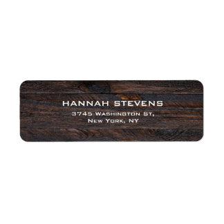 Brown Wood Texture Professional Elegant Modern