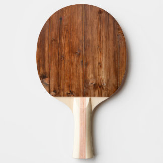 Brown Wood Wall Texture Structure Ping-Pong Paddle