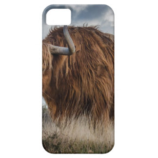 Brown Yak on Green and Brown Grass Field iPhone 5 Cover