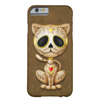 Brown Zombie Sugar Kitten Barely There iPhone 6 Case