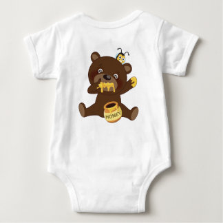 Brownie and BB 02 Baby Bodysuit