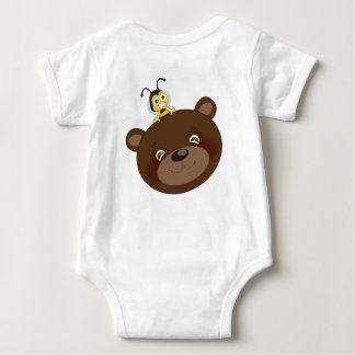 Brownie and BB 41 Baby Bodysuit