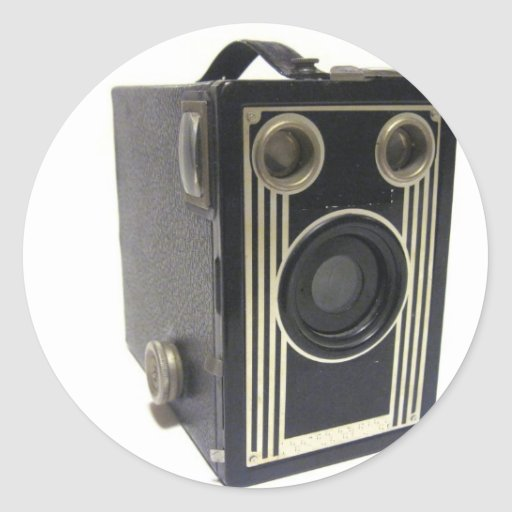 Brownie Antique Camera Stickers