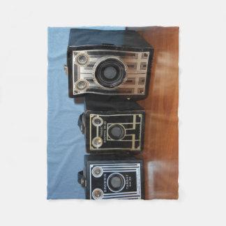 Brownie Camera Fleece Blanket
