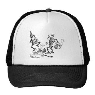 Brownie Cradling Hurt Hand Trucker Hat